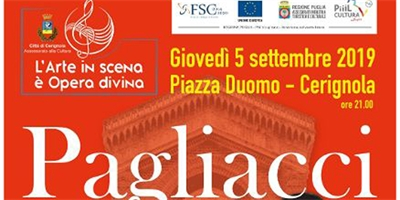 Pagliacci: La grande opera in piazza duomo a Cerignola