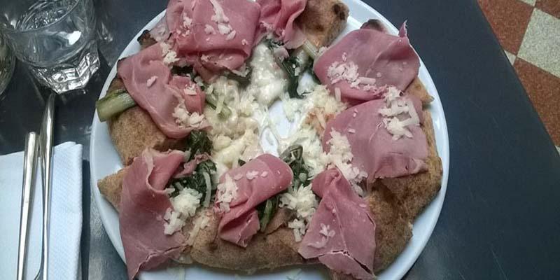 La pizza di Alce Nero