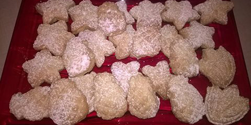 Biscotti fantasia d'agrumi