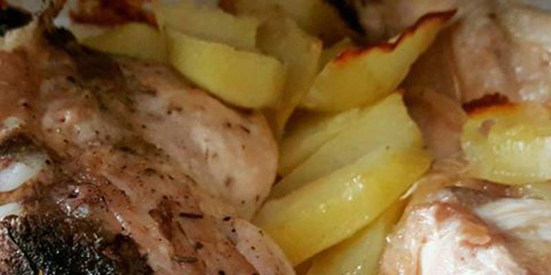 Cosciotti di pollo aromatizzati