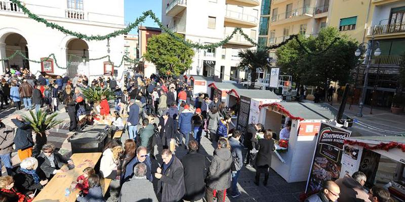 Libando a Natale e Foggia si illumina di street food