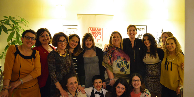 La cena solidale delle donne del vino