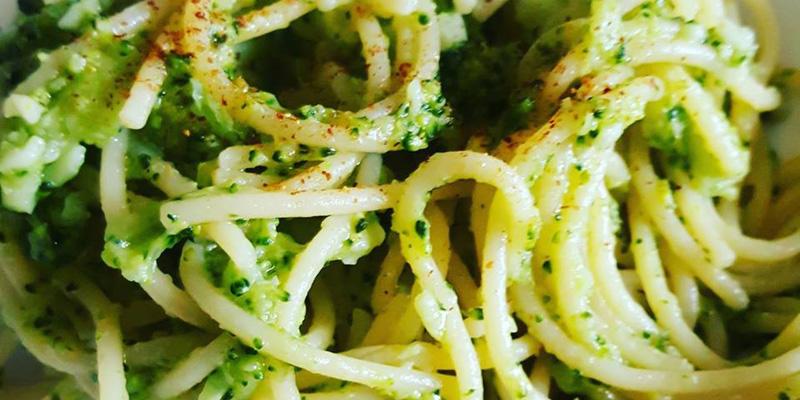 Spaghetti & broccoletti