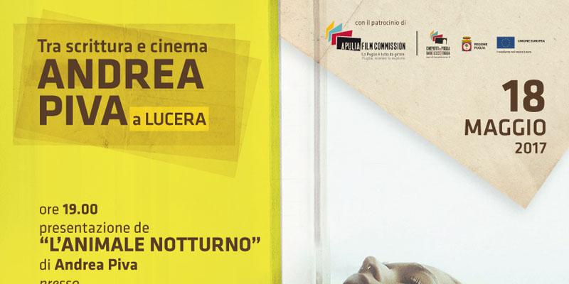 Andrea Piva a Lucera