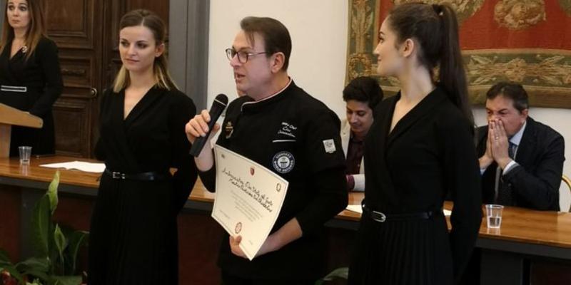 Chiazzolino, pasticcere lucerino premiato a Roma