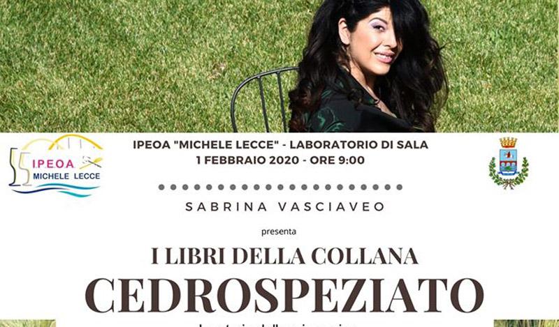 """L' Alberghiero """"Michele Lecce"""" presenta l'evento Incontro con l'Autore"""