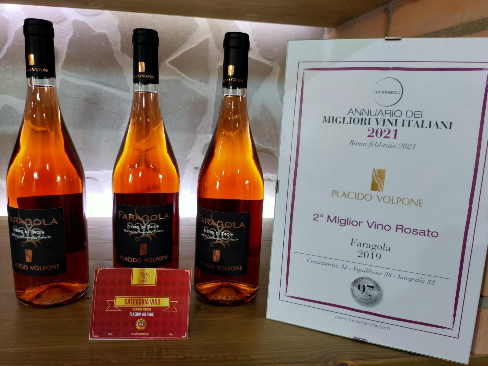 Faragola, vino d'eccellenza